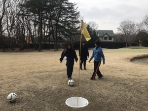 フットゴルフ一年4
