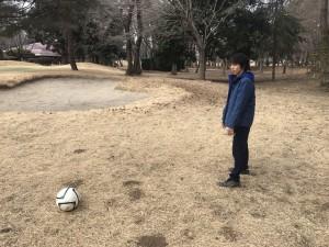 フットゴルフ一年1
